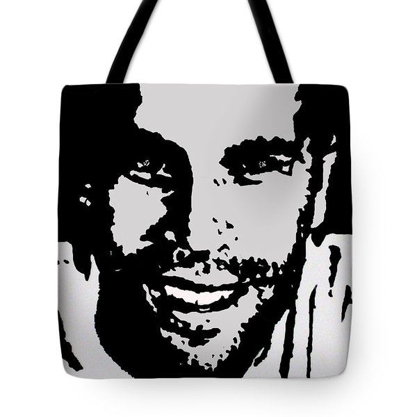Jack Johnson In My Living Room Tote Bag by Robert Margetts