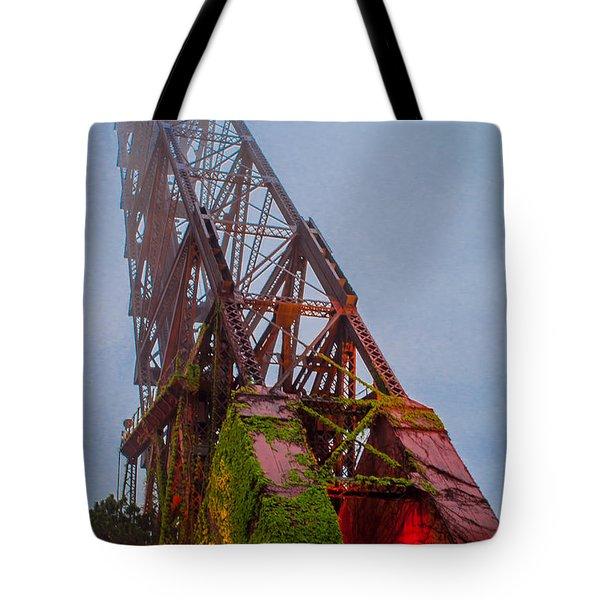 Jack Knife Bridge Tote Bag