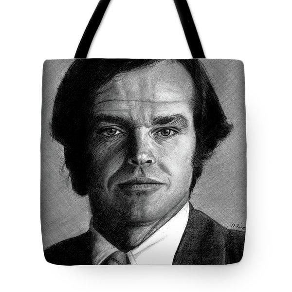 Jack Nicholson Portrait Tote Bag