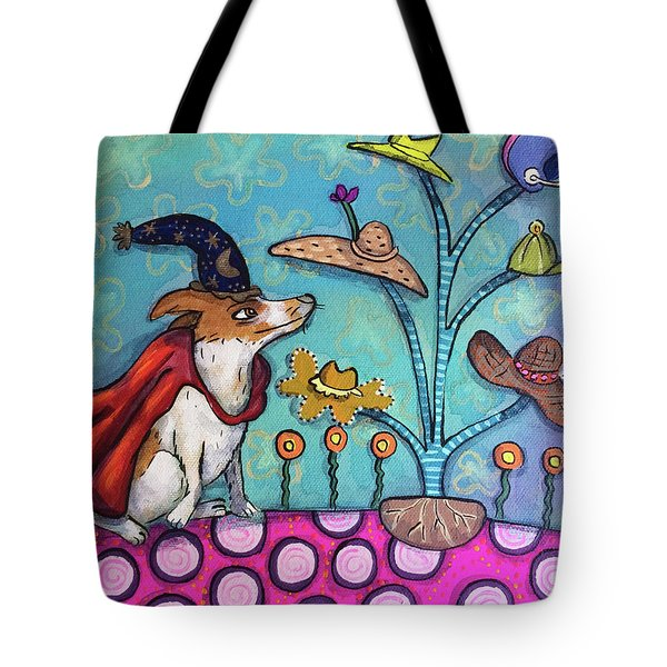 Tote Bag featuring the painting Jack Of All Trades by Marti McGinnis
