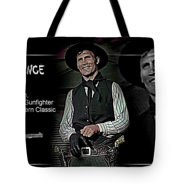 Jack  Palance Tote Bag