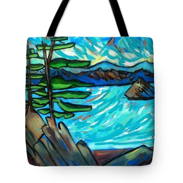 Jack Pine Tote Bag