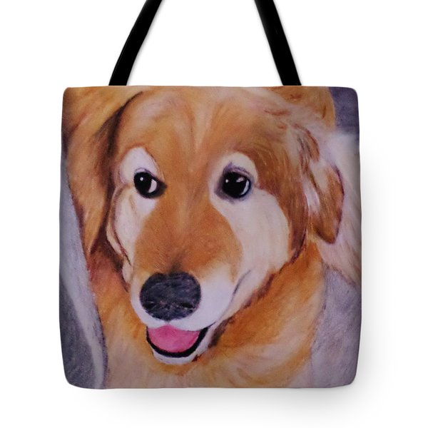 Jack Ready To Go Tote Bag by Christy Saunders Church