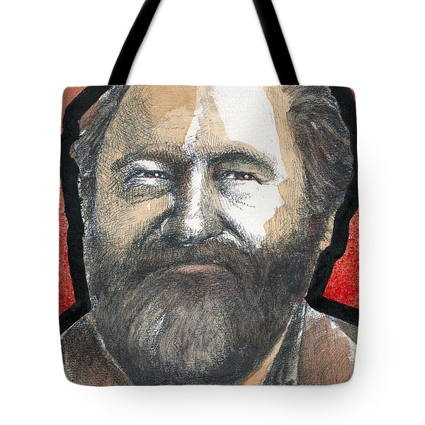 Tote Bag featuring the painting Jack by Rick Baldwin