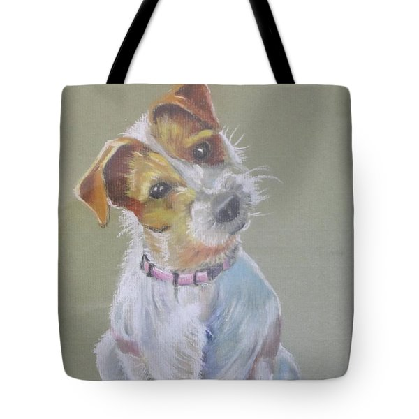 Jack Russell Watching You Tote Bag