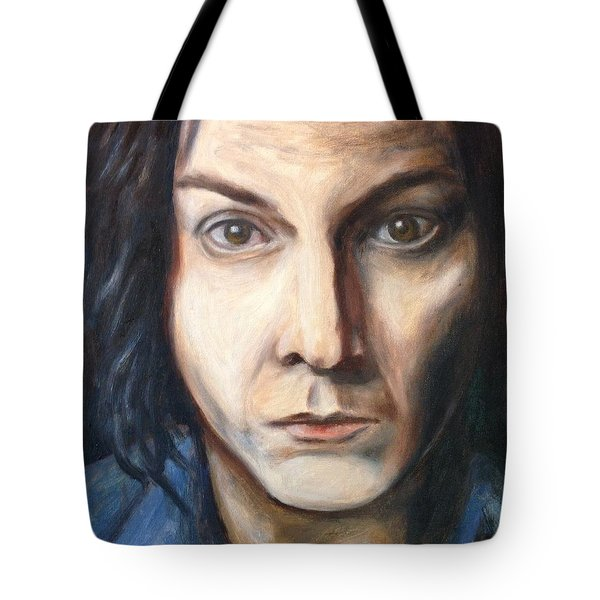A Tribute To Jack White Tote Bag
