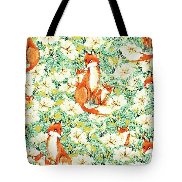 Jackals Tote Bag by Uma Gokhale