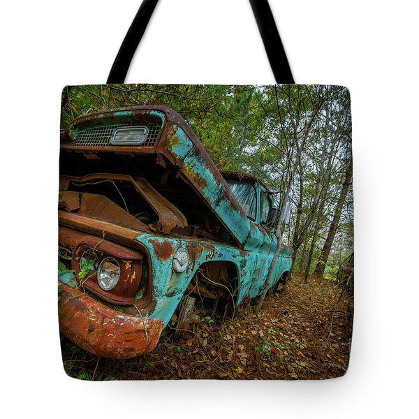 Jacked Up Gmc Tote Bag