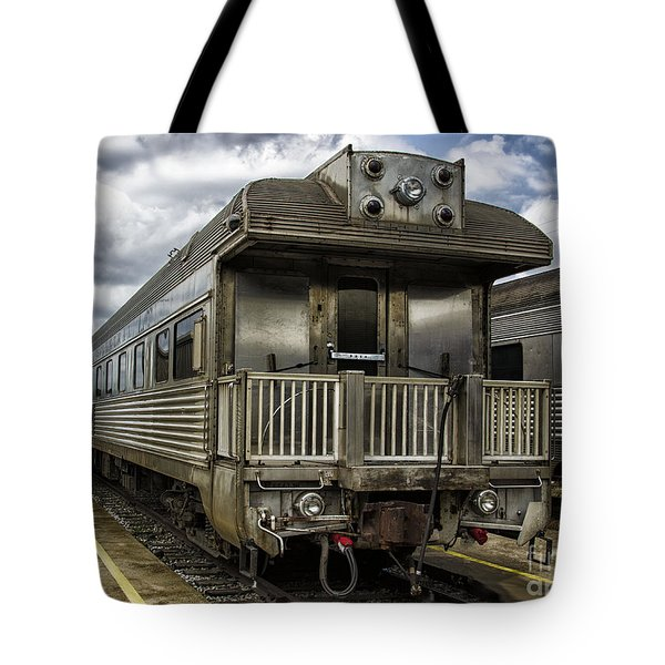 Tote Bag featuring the photograph Jackie Gleasons Private Rail Car by JRP Photography