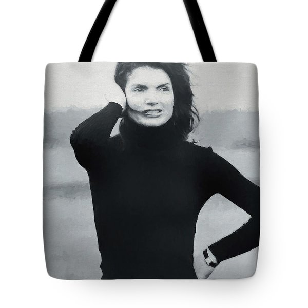 Jackie Kennedy - Painting Tote Bag