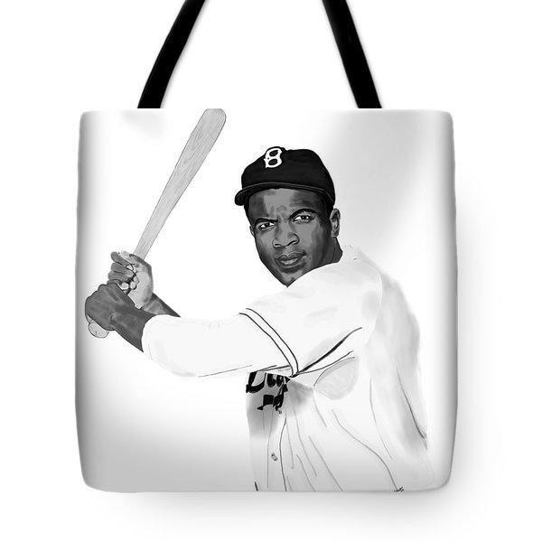 Jackie Robinson Tote Bag