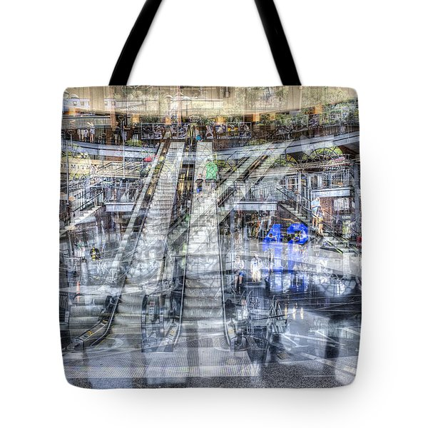 Tote Bag featuring the photograph Jackie Robinson Rotunda by Dave Beckerman