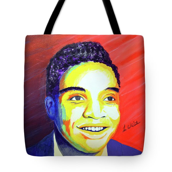 Jackie Wilson Tote Bag