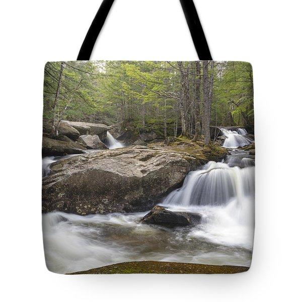 Jackman Falls - Woodstock New Hampshire Tote Bag