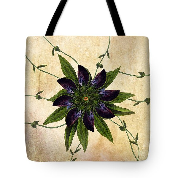 Jackmanii Tote Bag by Deborah Smith