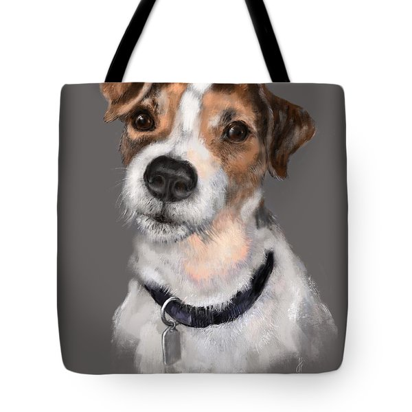 Jackson At Sunset Tote Bag