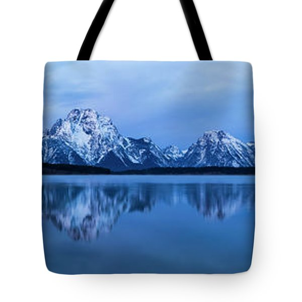 Jackson Lake Panorama Tote Bag