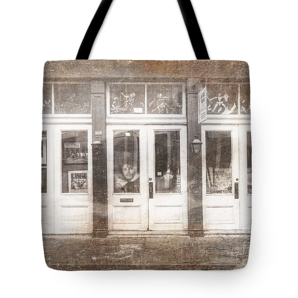 Jackson On Bourbon Street Tote Bag