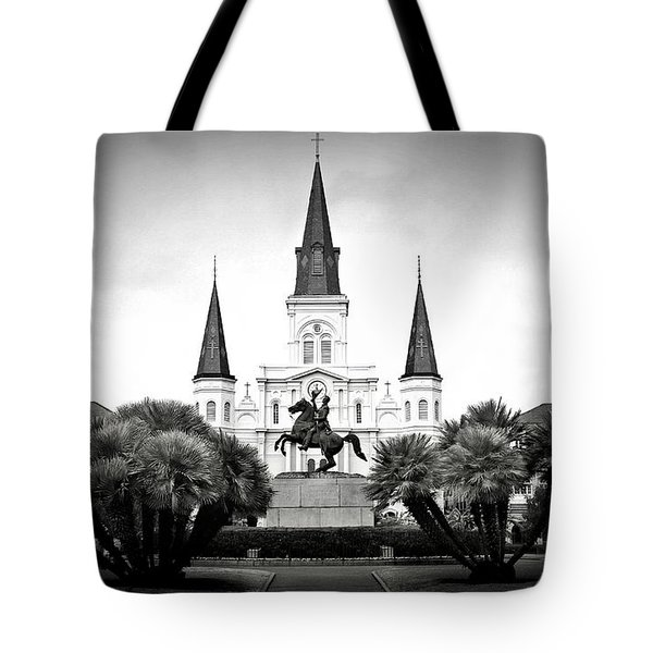 Jackson Square 2 Tote Bag by Perry Webster