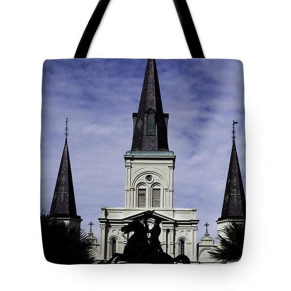 Jackson Square - Color Tote Bag