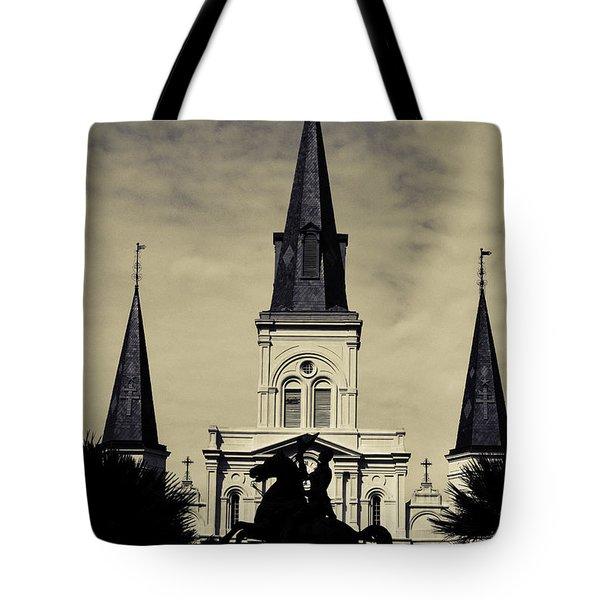 Jackson Square - Split Tone Tote Bag