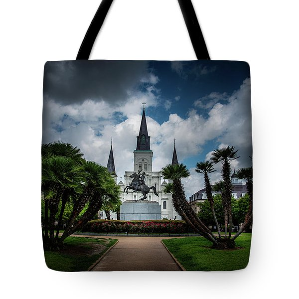 Jackson Square Sunrise Tote Bag