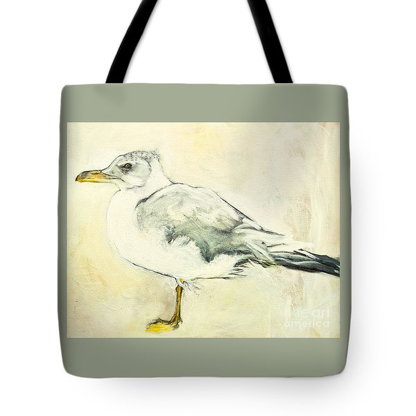 Jackson The Seagull Tote Bag by Carolyn Weltman