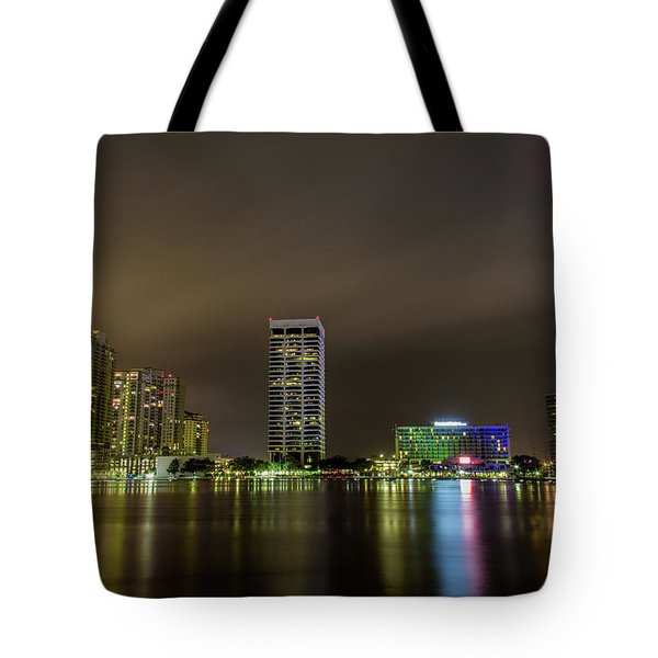 Jacksonville Landing Tote Bag