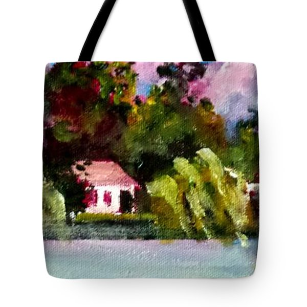 Jacksonville Nc Waterfront Tote Bag