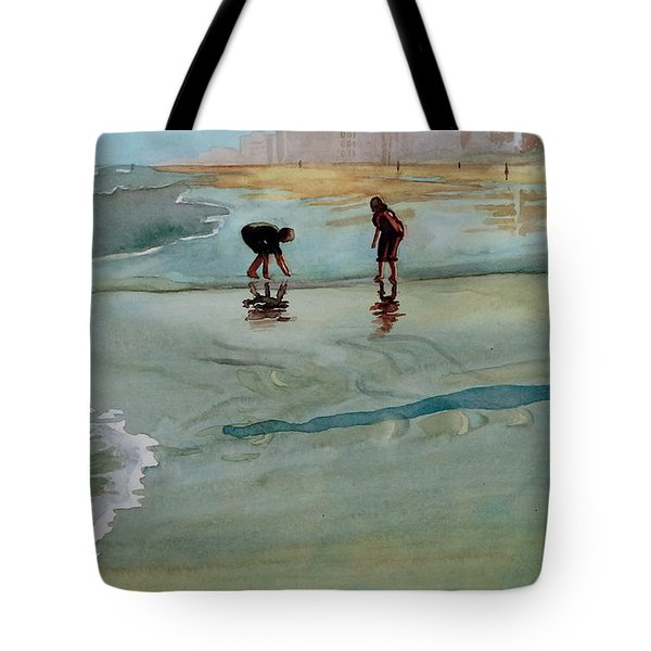 Jacksonville Shell Hunt Tote Bag