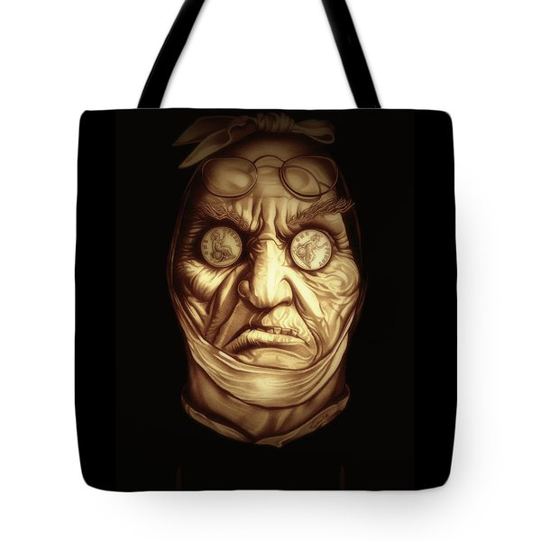Jacob Marley Tote Bag by Fred Larucci