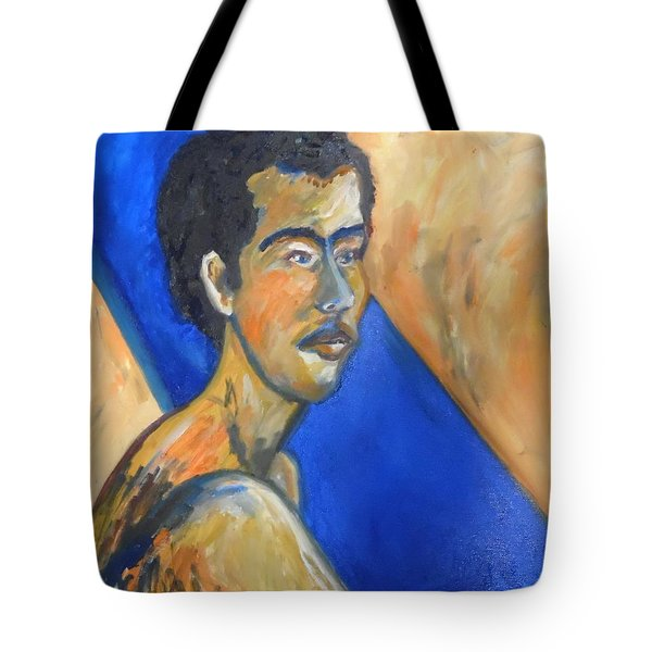Tote Bag featuring the painting Jacob Patriarch Of The Israelites by Esther Newman-Cohen