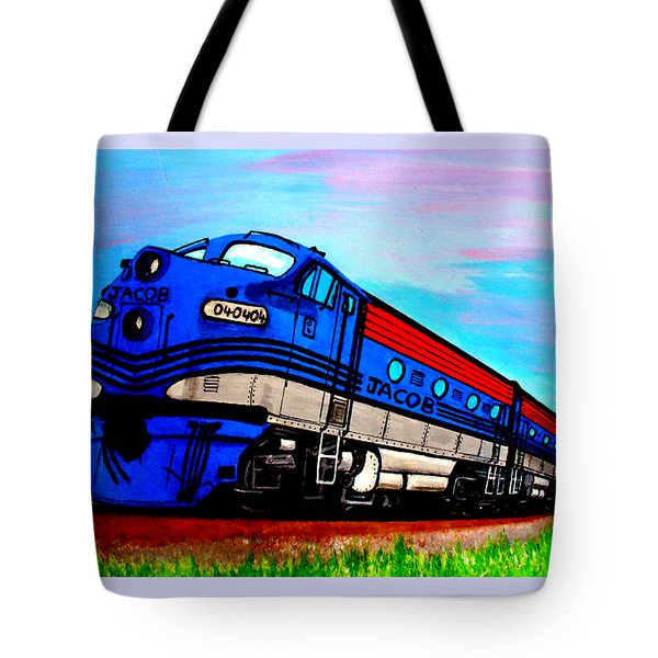 Jacob The Train Tote Bag