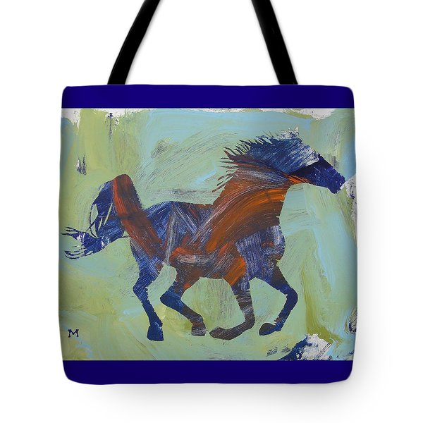 Tote Bag featuring the painting Jacob's Inspiration by Candace Shrope