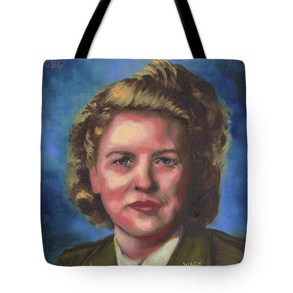 Jacqueline Cochran Tote Bag