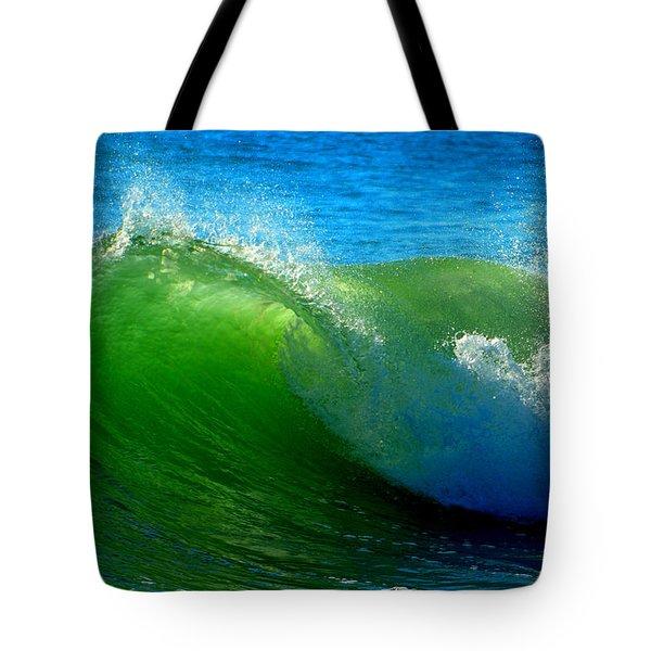 Jade Cascade Tote Bag