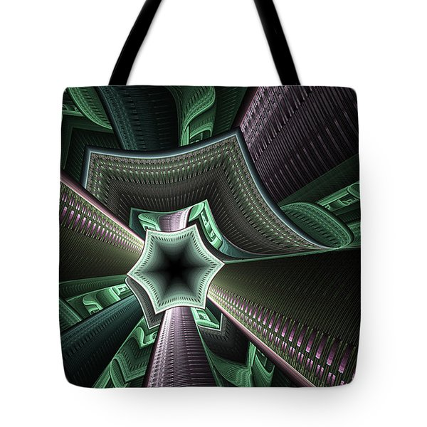 Jade Empress Tote Bag