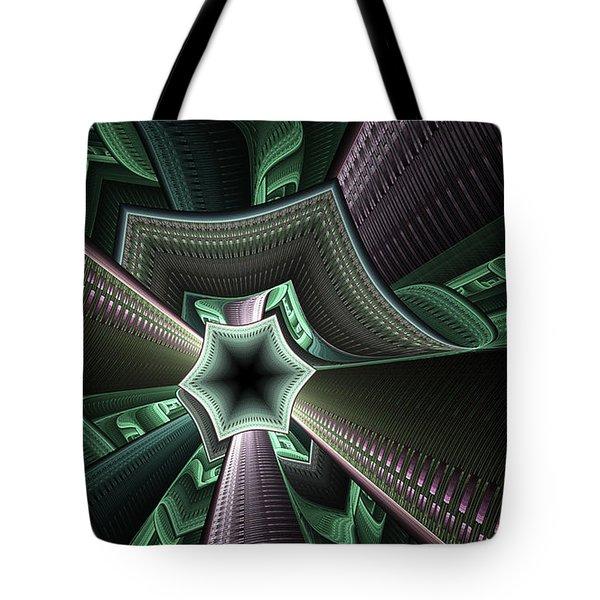 Jade Empress Tote Bag