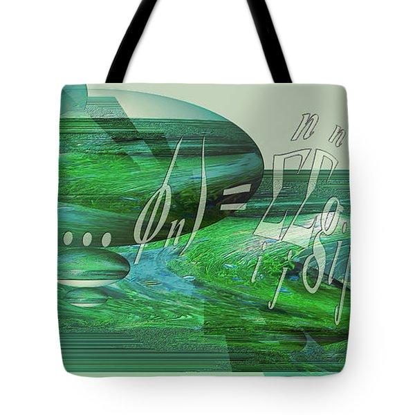 Jade Enigma Tote Bag