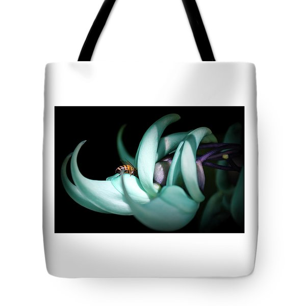 Tote Bag featuring the photograph Jade by Laura DAddona