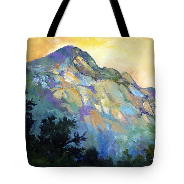 Jade Mountain Tote Bag