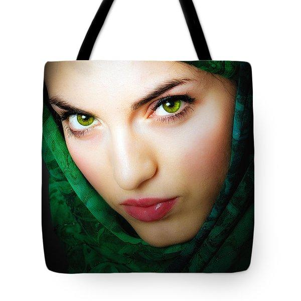 Jade Tote Bag