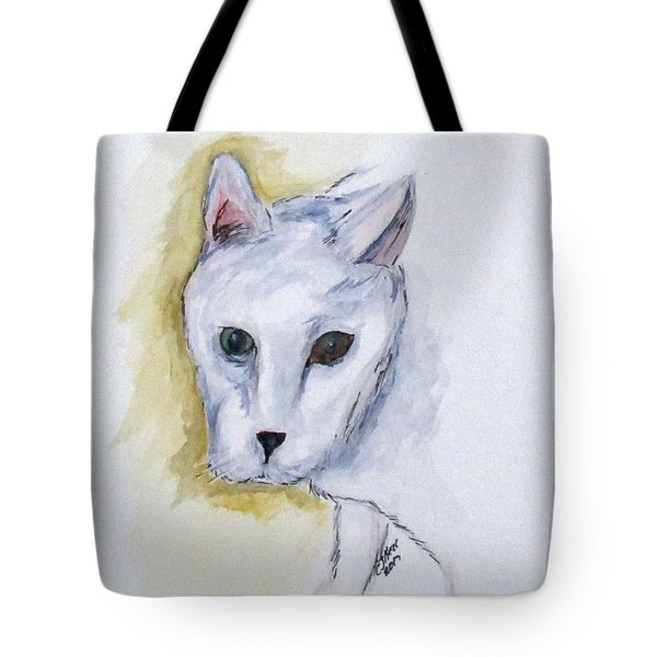 Jade The Cat Tote Bag