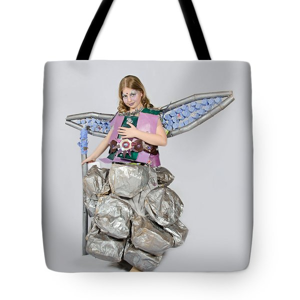 Jaeda In Techno Fairy Tote Bag