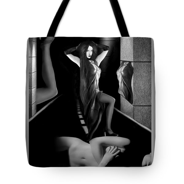 Jaede Street - Self Portrait Tote Bag by Jaeda DeWalt