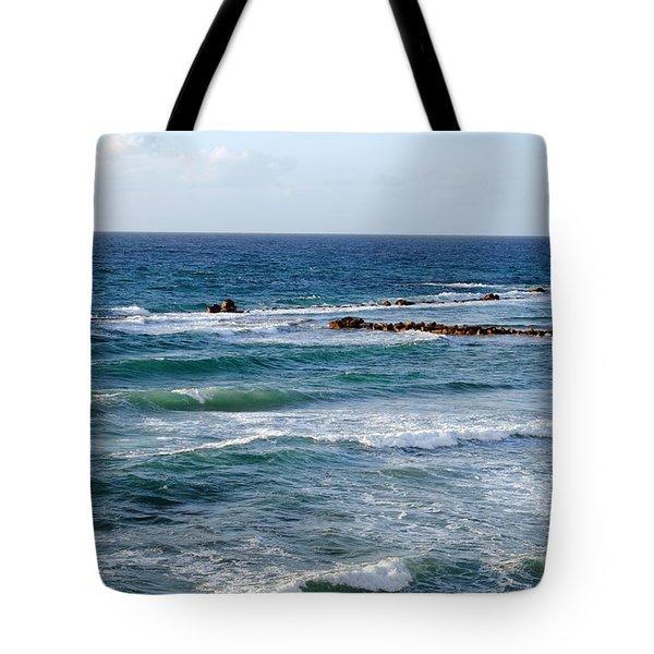 Jaffa Beach 10 Tote Bag