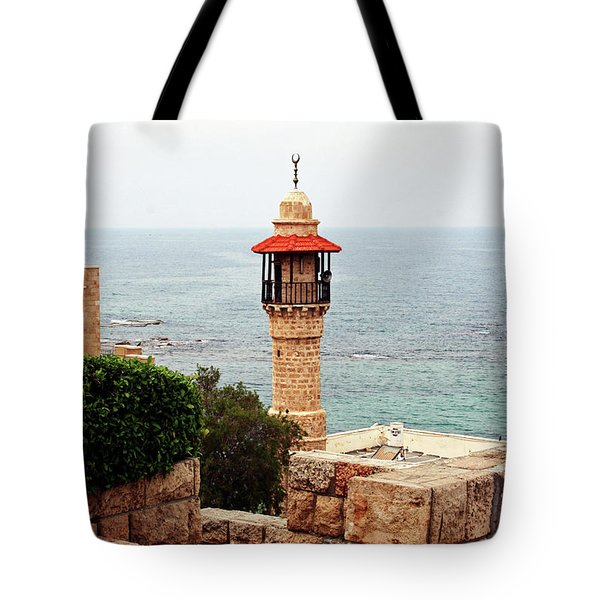 Jaffa Israel Tote Bag by Denise Moore