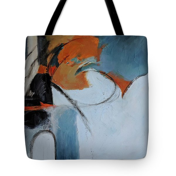Tote Bag featuring the painting Jaffa by Jillian Goldberg