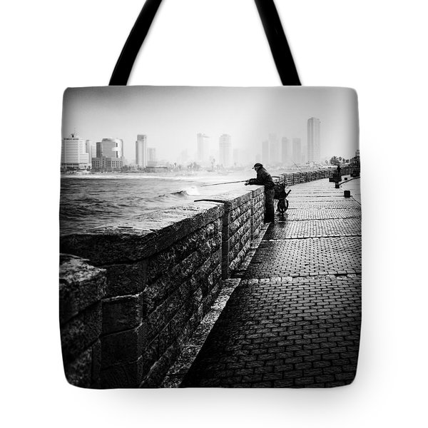Jaffa Port Tote Bag by Hayato Matsumoto