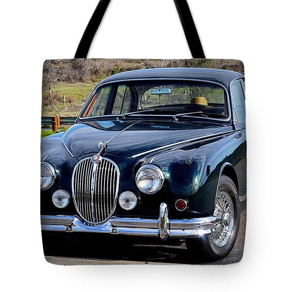 Jag Tote Bag by AJ Schibig